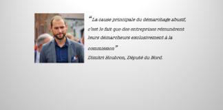 Dimitri Houbron Démarchage